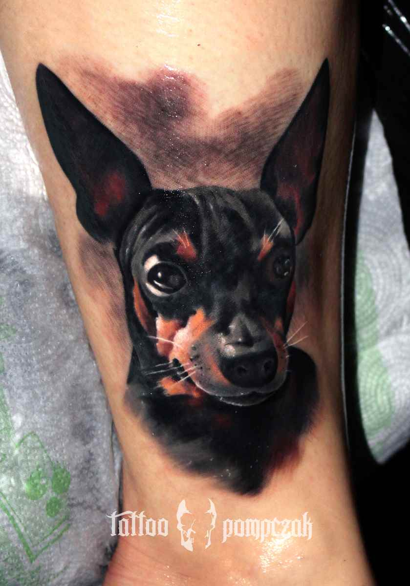 dog_salon tatuazu ursynow